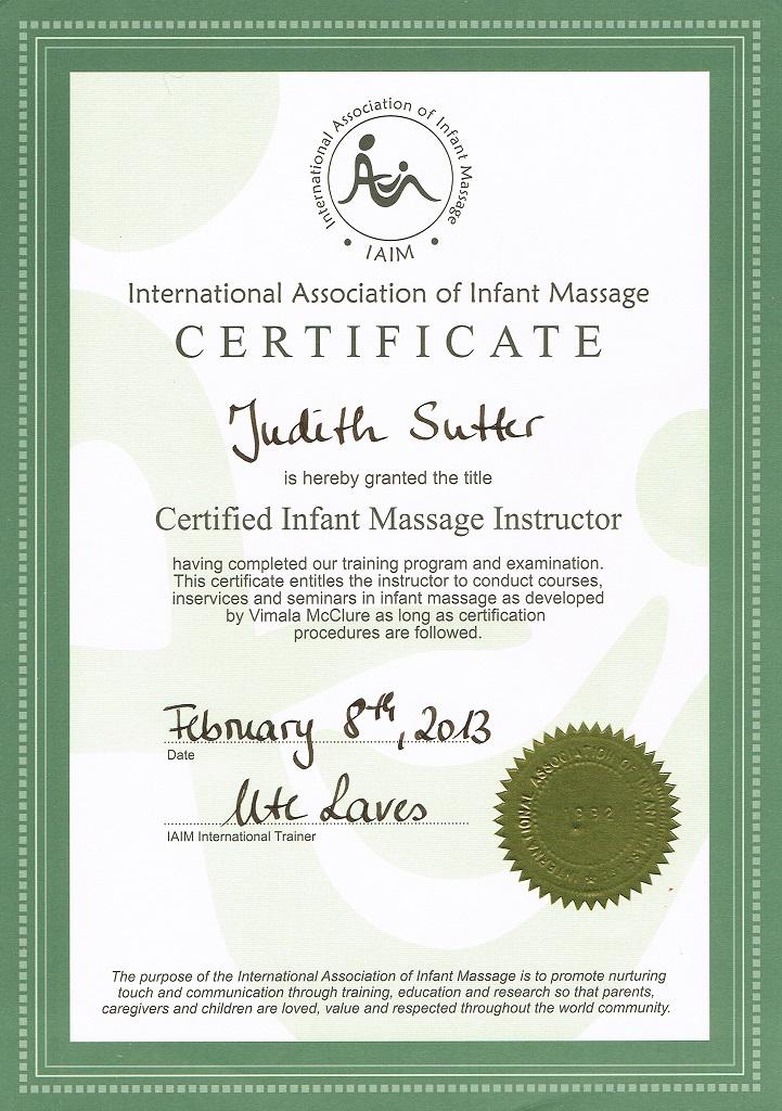 IAIM Zertifikat