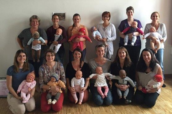 Babymassage Team Training